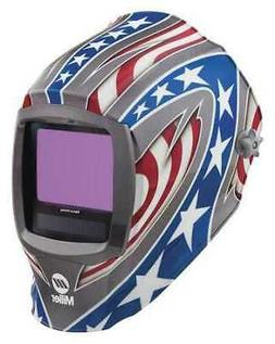 MILLER ELECTRIC 280049 Auto Darkening Welding Helmet, Lithiu