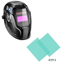 2PC Auto Darkening Welding Helmet Inside Exterior Cover Repl