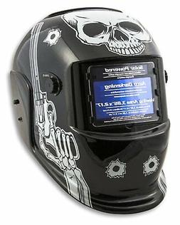 Shop Iron 41282 Solar Powered Auto Darkening Welding Helmet