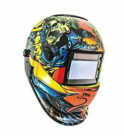 Shop Iron 41289 Solar Powered Auto Darkening Welding Helmet