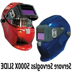 Servore 5000X SLIDE  Auto Lift Welding Helmet with the new X