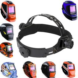adjustable replacement headgear for darkening welding helmet