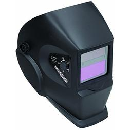 adjustable shade auto darkening welding helmet by