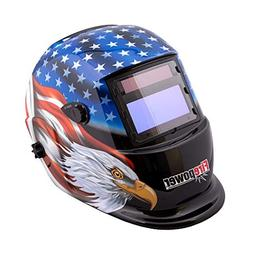 Auto Dark Weld Helmet Stars & Stripes Eagle