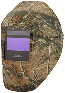 Auto Darkening Welding Helmet, Green/Brown, Digital Performa