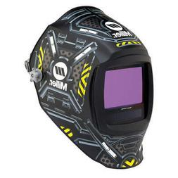 MILLER ELECTRIC 280047 Auto Darkening Welding Helmet, Black
