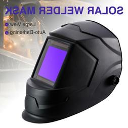 Big View Pro Solar Auto-Darkening Welding Helmet Welder Mask