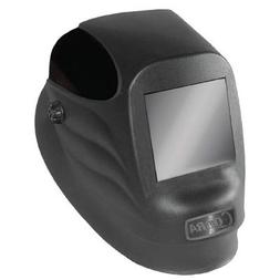 "Radnor® Black 54P Fixed Front Welding Helmet With 5 1/4"" X"