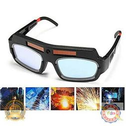 1 Pair Black Solar Auto Darkening Welding Goggle Safety Prot