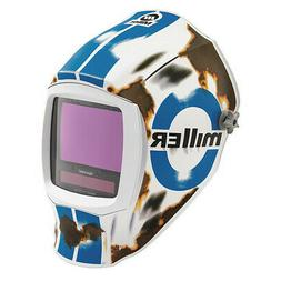 MILLER ELECTRIC 280051 Welding Helmet,Auto-Darkening,Nylon