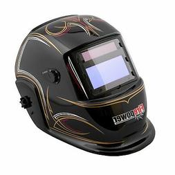 Firepower 1441-0085 Auto-Darkening Welding Helmet with Pinst