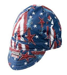 Lincoln K3204-ALL All American Doo Rag Red White & Blue