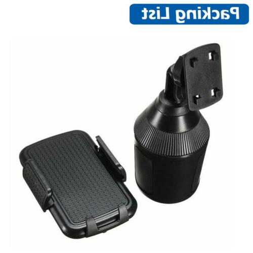 360 Cup Holder Stand Cradle Mount For Phone Universal