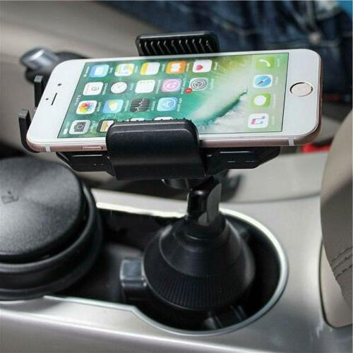 360 Adjustable Car Cup Stand Cradle Mount Cell Universal