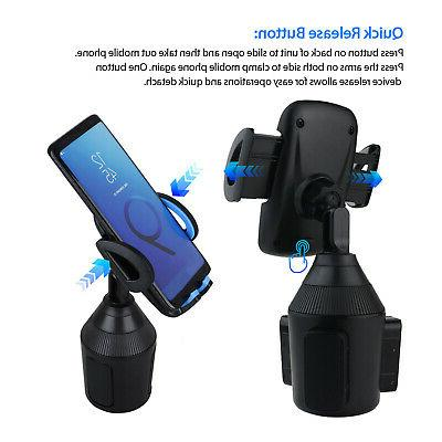 360 Cup Holder Stand Mount Cell Universal