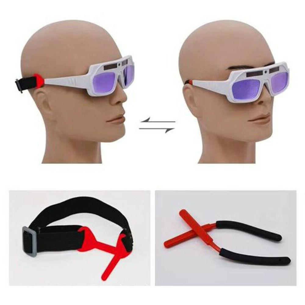 FA- Anti UV Solar Powered Darkening Welding Goggles Safety
