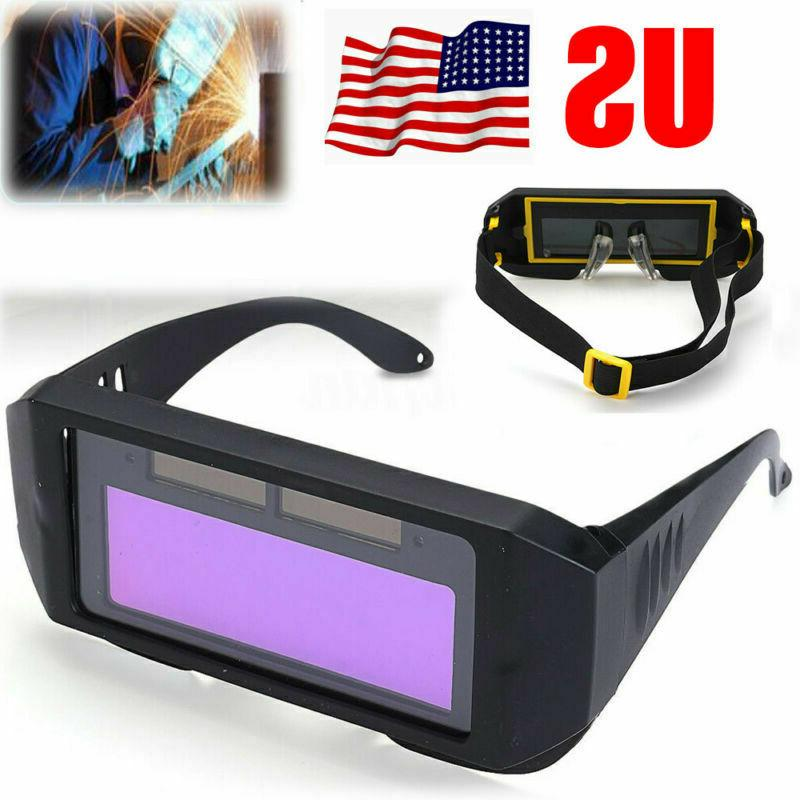 Solar Glasses Mask Auto Darkening Protect New