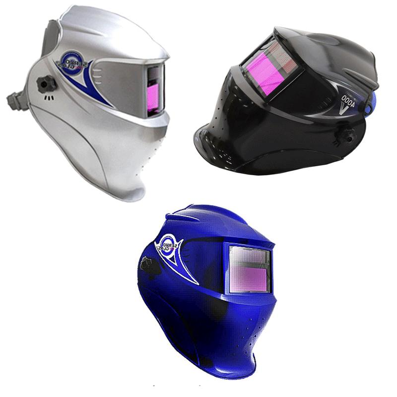 auto darkening welding helmet 4000v patented sensor