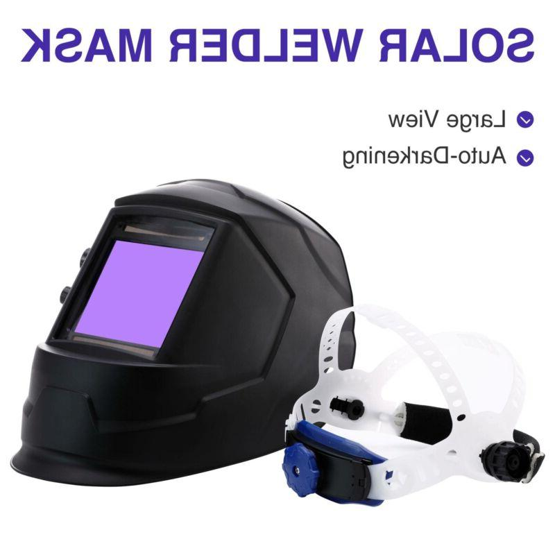 auto darkening welding helmet large view area