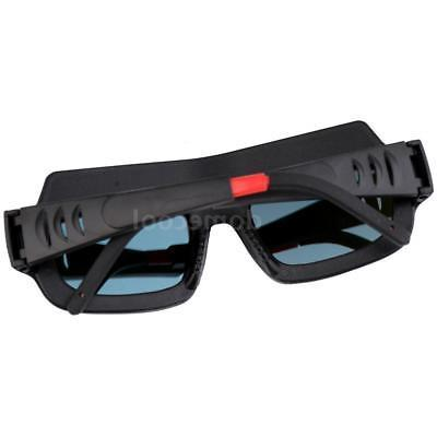 Black Safety Goggles Glasses Darkening Q5T4
