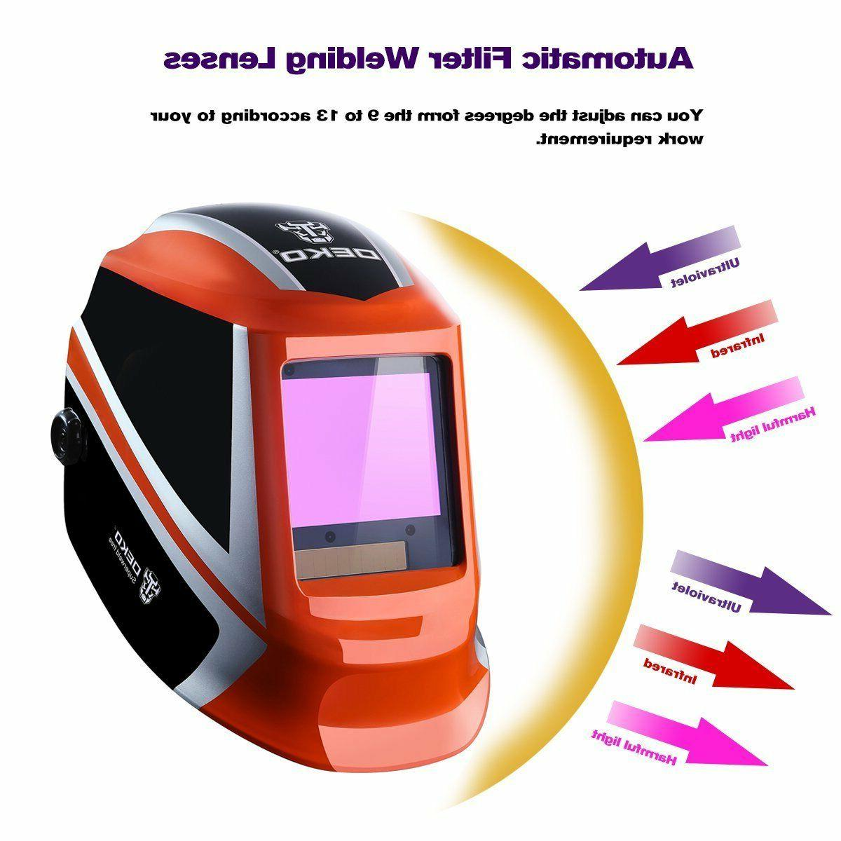 DEKO Darkening Welding Tig Mask Welder