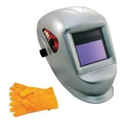 Deluxe Solar Auto Darkening Welding Helmet with Large Viewin