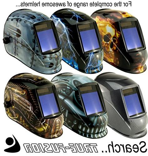 True-Fusion Massive Viewing Powered Mask with Bag, Spare Spare included True-Fusion