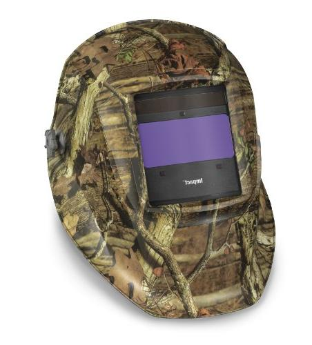 impact variable shade welding helmet