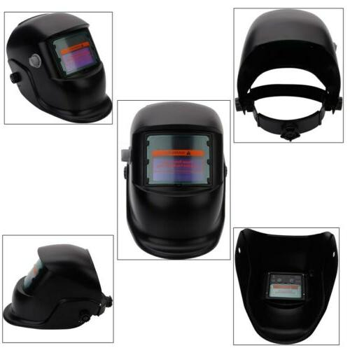 Large View Solar Powered Auto-Darkening Welding Helmet