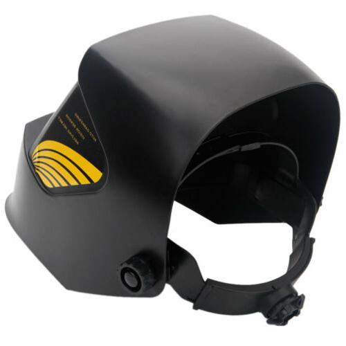 Large View Area Pro Welder Mask Auto-darkening Helmet