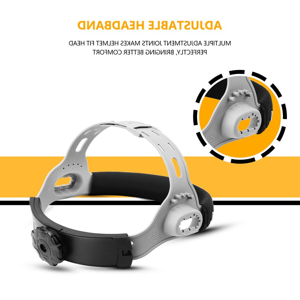 Original Power <font><b>Darkening</b></font> <font><b>Welding</b></font> Helmet Lens Mask 92*42cm for MIG MMA Grind