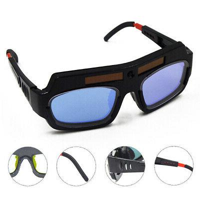 solar powered auto darkening welder glasses welding