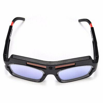 Solar Powered Welder Goggle Eye
