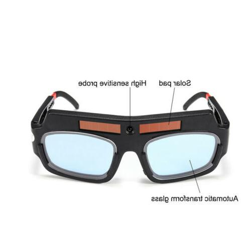 Safety Solar Darkening Welding Helmet Goggle Welder Glasses