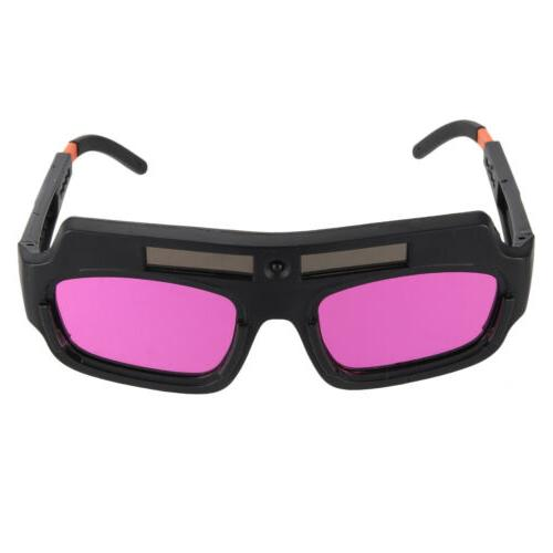 Safety Solar Powered Auto Darkening Welding Goggle Welder