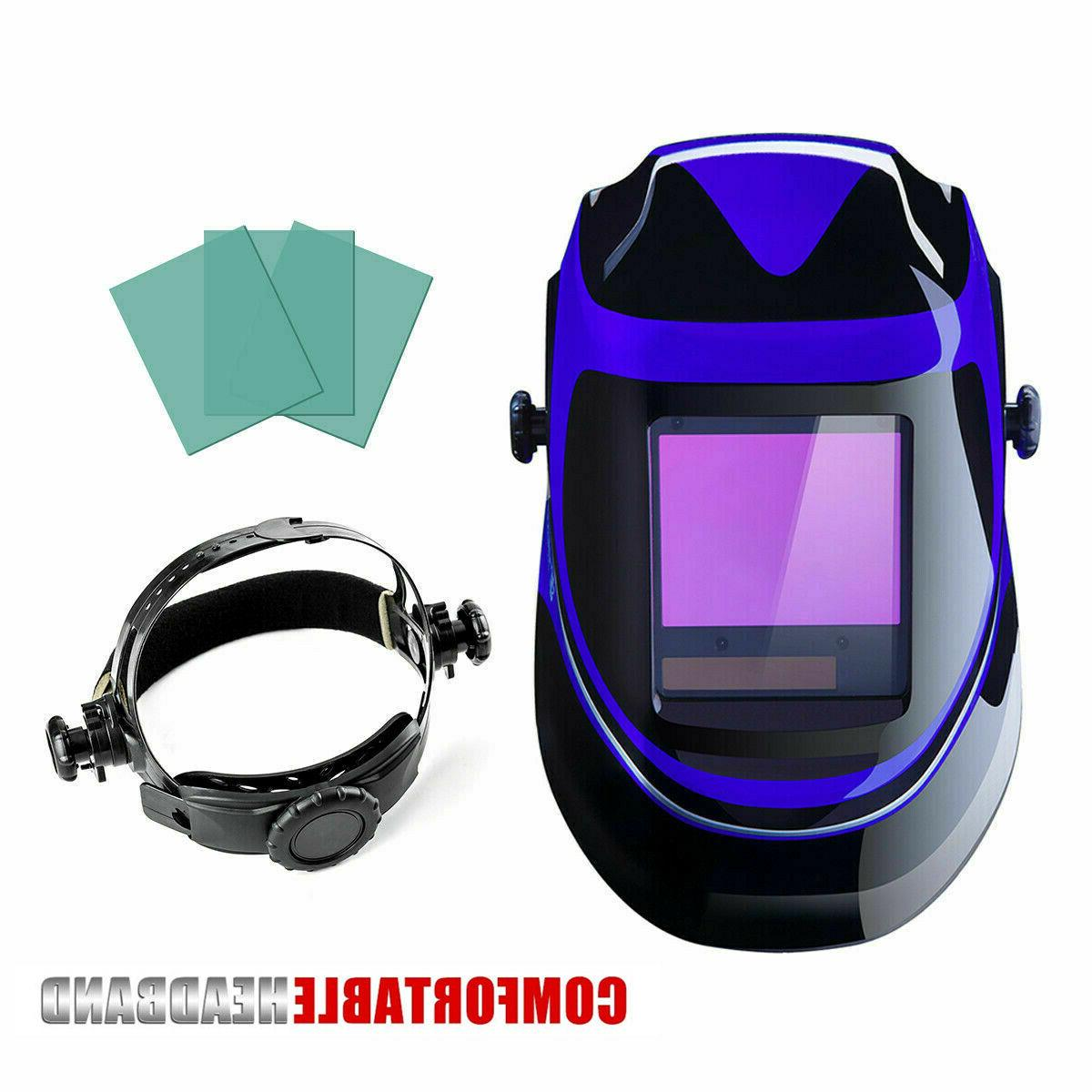 DEKO Solar Auto Darkening MIG MMA Electric Welding Helmet We