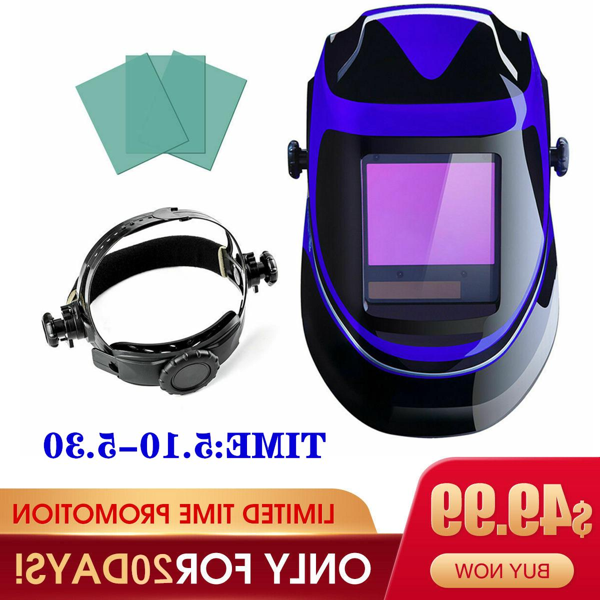 solar auto darkening mig mma electric welding
