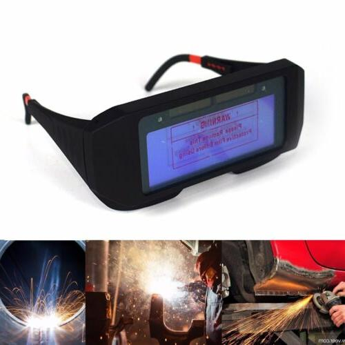 Solar Auto Darkening Safety Protective Glasses Mask Goggles Work
