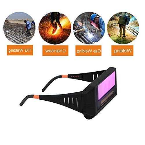 WeiMeet Auto Welding Goggles Helmet Eyes Goggles Cutter Soldering Mask Filter Lens Tools Anti-Flog
