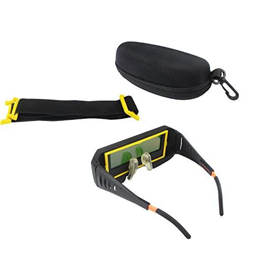WeiMeet Solar Welding Goggles Eyes Protector Welder Goggles Mask Anti-Flog