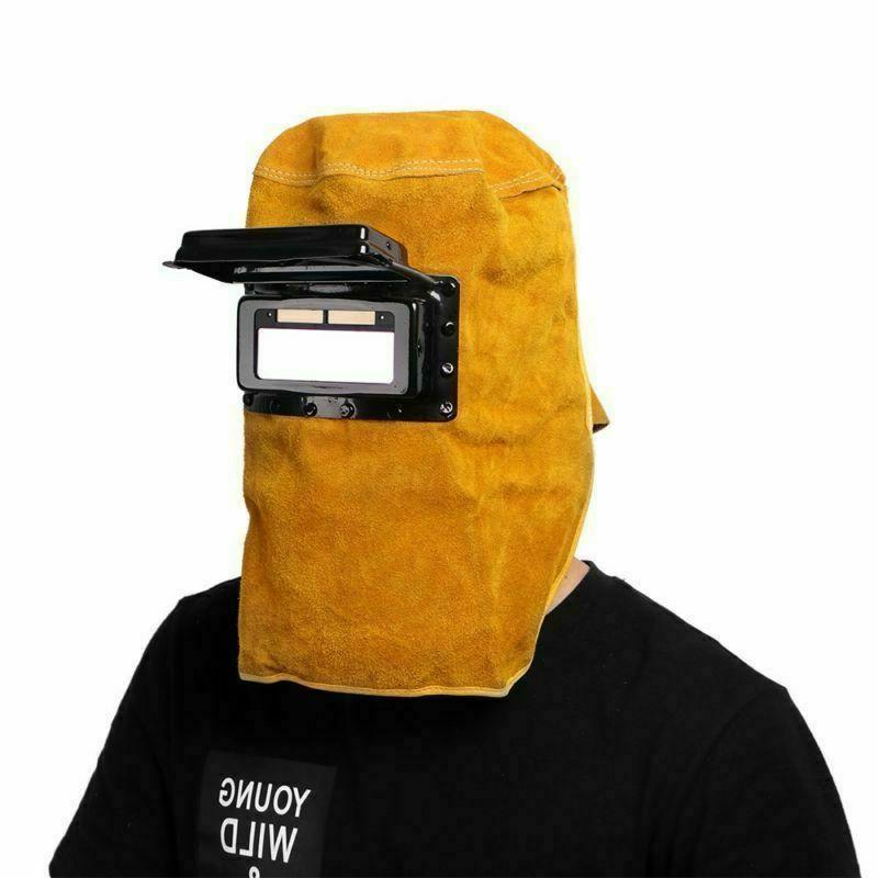 Solar Powered Filter Welder Leather Hood