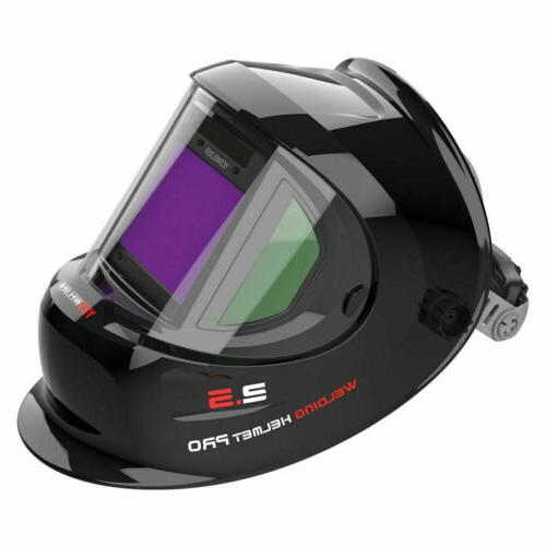 true color weld mask hood auto darkening