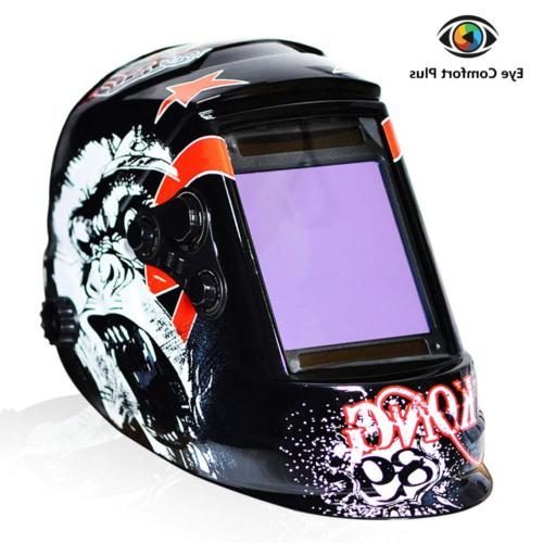 welding helmet 4c lens technology solar power