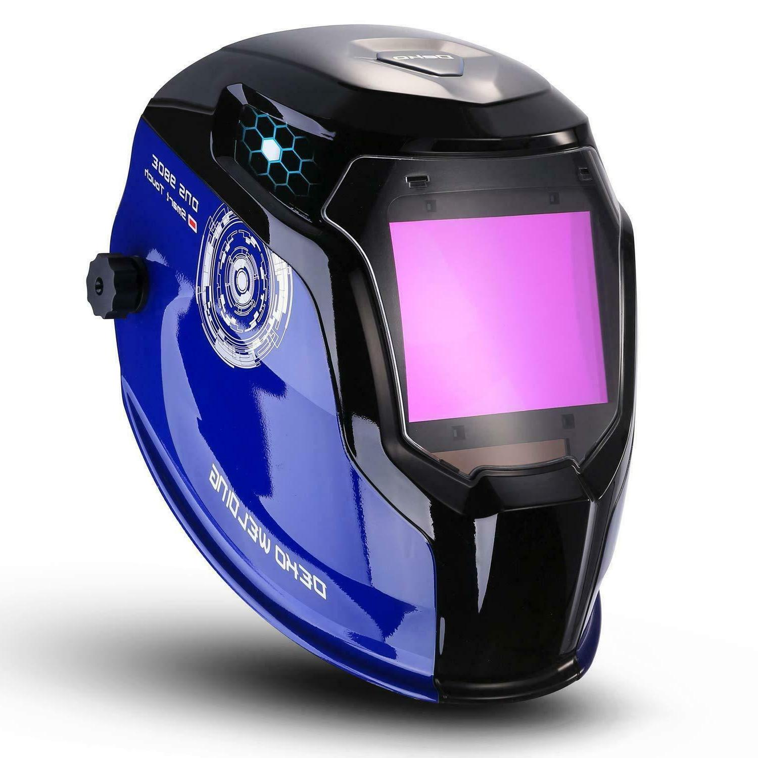 DEKO Professional Auto Darkening Solar Powered Welding Helme