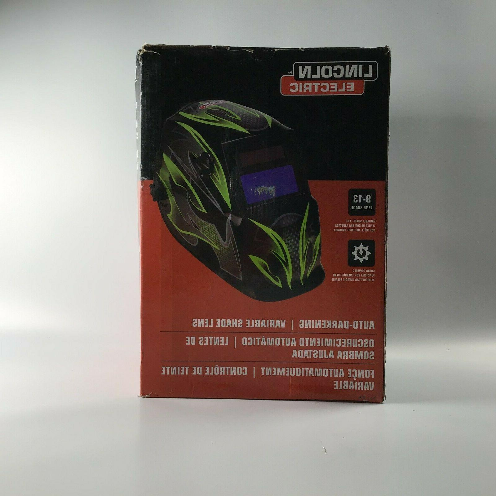 welding helmet lightweight auto darkening variable shade