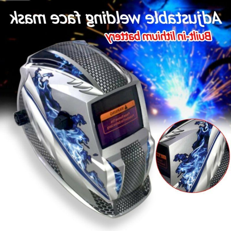 welding helmet mask solar auto darkening adjustable