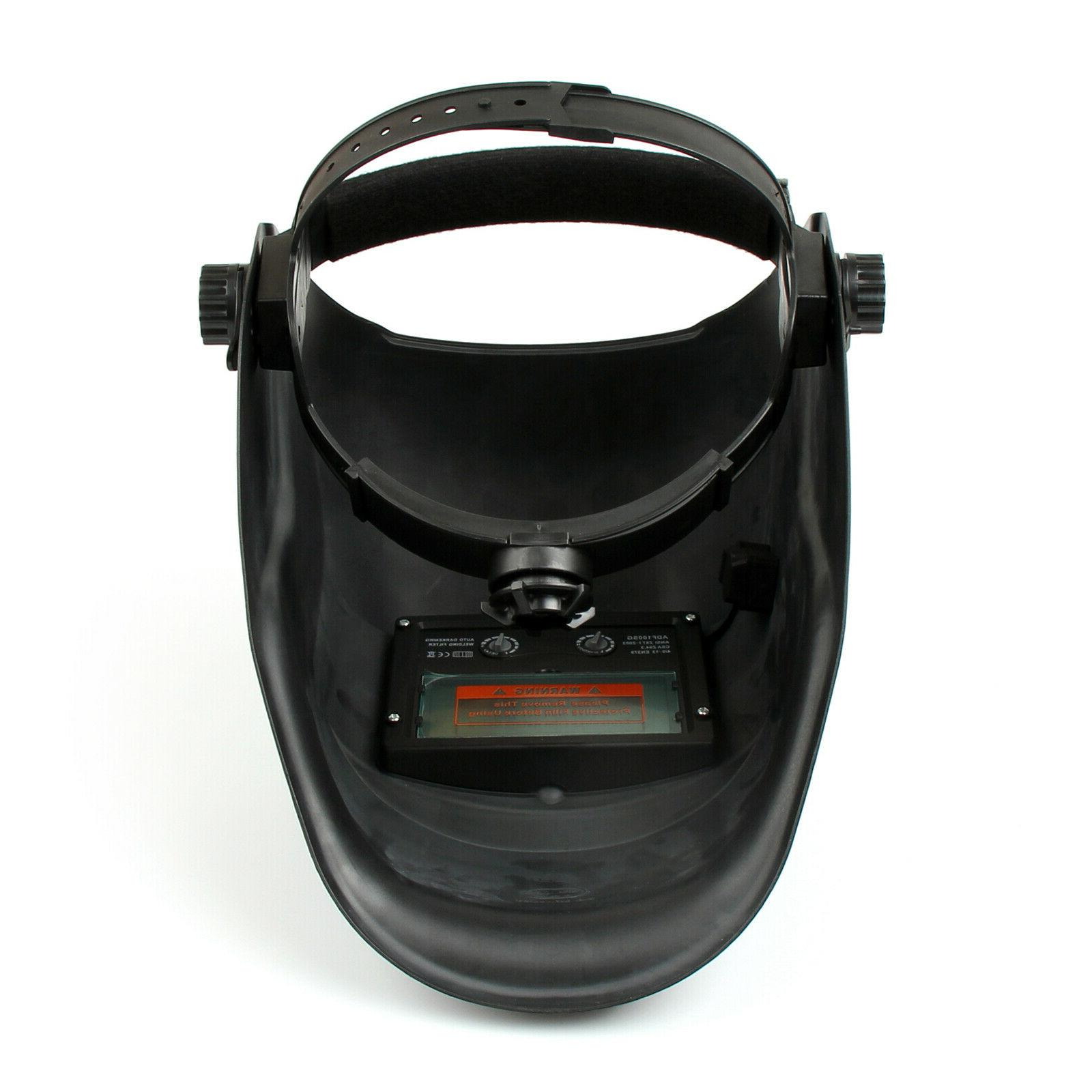 Welding Helmet Darkening Powered Welders ARC TIG