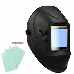 Large View Area pro Solar Auto Darkening Welding Helmet Arc