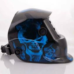 Large View Area Solar Auto Darkening Welding Helmet Welder M