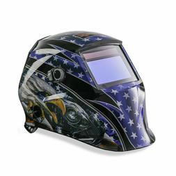 NEW KT INDUSTRIES 2ND GEN PATRIOTIC AUTO DARKENING WELDING H